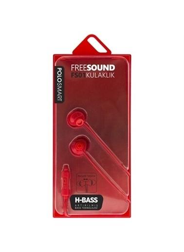Polo Smart Fs01 Free Sound Kulakiçi Kulaklık Kırmızı Kırmızı